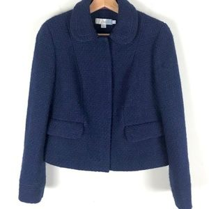 Boden size 20 Navy Tweed blazer jacket